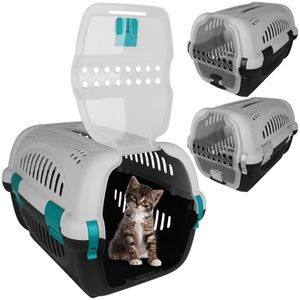 Tiertransportbox 51x33cm Transportbox Katze Haustiere Katzenbox Tierbox Katzentransportbox