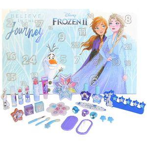 Disney Frozen II Anna Elsa Adventskalender Beauty Kosmetik Surpris 24tlg (e04)