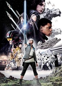 "Komar Fototapete ""Star Wars  – Balance"", bunt, 184 x 254 cm"