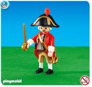 PLAYMOBIL® Captain der Englischen Soldaten Gardist Piraten Spielfigur 6228