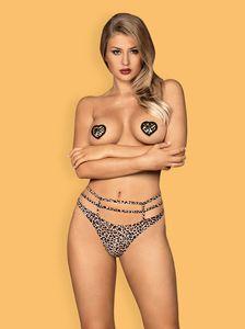 Nipple Covers Leopard, Farbe: Leopard, Größe: One Size (Einheitsgröße)