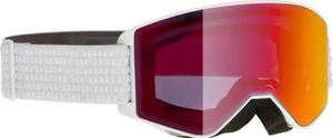 Alpina Erwachsene Skibrille Ski Brille Narkoja white HM orange S2