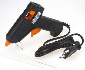 Heißklebepistole Set mit 7mm Klebesticks und 230V Heißkleber Pistole