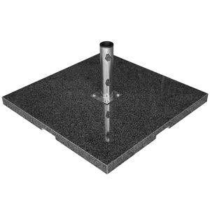 Sonnenschirmständer Granit - 90kg dunkelgrau
