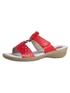 Jana Damen Pantolette rot 8-8-27110-24 H-Weite Größe: 39 EU