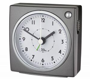 TFA 60.1516.10 Funk-Wecker ohne Batterie