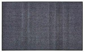 Fußmatte Waschbar 90 x 150 cm Anthrazit Schmutzfangmatte Fußabtreter Türmatte Matte Gummi