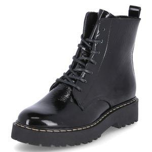 Online Shoes Stiefeletten Schwarz Damen