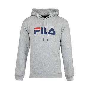 FILA Pure 1er Pack Uni Hoodie Sweatshirt für Damen oder Herren Grau, Größe:M