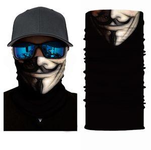 Schlauchschal Maske Anonymous Vendetta Multifunktionstuch Mundschutz Neckwarmer Rundschal Schal Halstuch Motorrad Gesichtsschutz Bandana Staubschutz  Mundschutz Atemschutzmaske Halstuch Outdoor Loop Biker