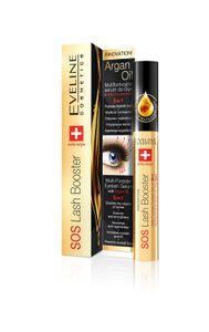 Eveline Sos Lash Booster With Argan Oil 5In1 Serum 10ml