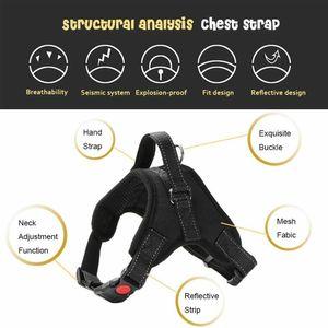 Hunde-Power-Geschirr Atmungsaktiv Hygiene Reflektierend Gepolstert Freizeit ✅1-2 Werktage Lieferung✅ ✅TOP SERVICE ✅DE VERSAND✅