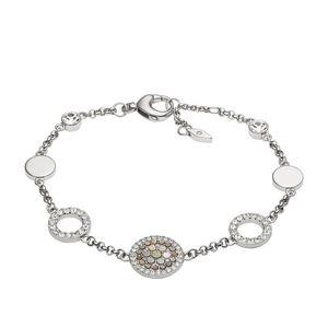 Fossil JF02311 Damen Armband Edelstahl Silber 20 cm