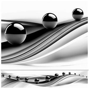 Küchenrückwand modern HOCHWERTIG Spritzschutz mit UV-DIREKTdruck schwarz weiß AB51