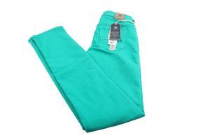 Bogner Jeans Supershape Damen hose Jeanshose Baumwolle Gr. 34L grün Neu