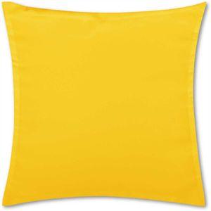 Kissenhülle Ellen, Maße: 40x40 cm, Farbe: Gelb