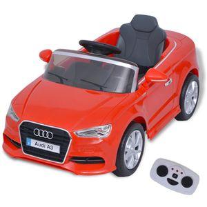 vidaXL Kinder-Aufsitzauto mit Fernbedienung Audi A3 Rot