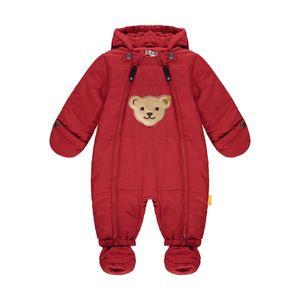 STEIFF® Baby Schneeanzug großer Bär, Größe:86, Präzise Farbe:Rot