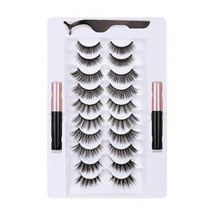 Neue Mode Magnetische Keine Falschen Wimpern Kleber Volle Auge Magnet Wiederverwendbare Gef?lschte Wimpern Natš¹rliche Weiche Wimpern Magnetische Wimpern Set