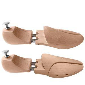 Schuhspanner 38-50 Hartholz Federnspanner verchromten Metallteilen Schuhformer (Gr. 38)