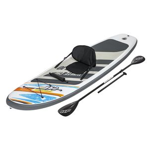 Bestway 65341, Stehpaddelbrett (SUP), 120 kg, Vollfarben-Box, ATTENTION!NO PROTECTION AGAINST DROWNING! SWIMMERS ONLY!, 3,05 m, 11,9 kg