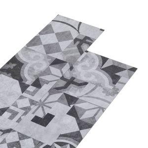 vidaXL PVC-Laminat-Dielen 5,02 m² 2 mm Selbstklebend Grau Muster