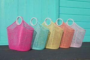 Sun Jellies Fiesta Shopper - in verschiedenen Farben, Farbe:Berry Pink