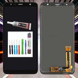 Samsung Display für Galaxy J4 Plus SM-J415F LCD Bildschirm TouchScreen Schwarz +TOOL