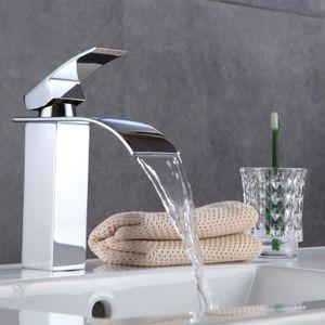 Waschtischarmatur Chrom Wasserhahn Waschbecken Amatur Einhebelmischer Waschtisch
