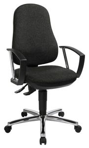 Topstar Support® P Deluxe Bürostuhl, anthrazit