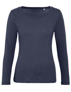 Damen Inspire Long Sleeve T /OCS-100 und -100 - Farbe: Urban Navy - Größe: L