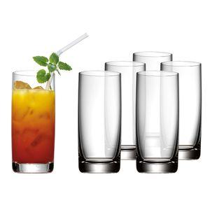 WMF Easy Plus Longdrinkglas-Set, 6-tlg.