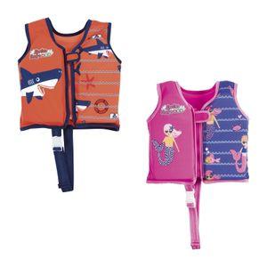 Bestway Swim Safe  Schwimmjacke mit Textilbezug für Kinder 3-6 Jahre (M/L)