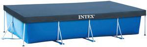 INTEX Abdeckplane 'rechteckig' 400x200cm, Überhang 20cm