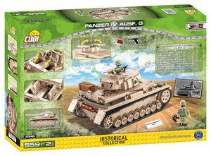 Cobi 2546 Hc Wwii Panzerkampfwagen Iv Ausf.