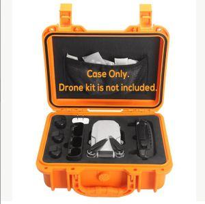 Stoßfester Reise Aufbewahrungskoffer Box für DJI Mavic mini RC Drone Wasserdicht-orange