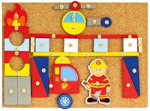 Bino 82197 - Hammerspiel, Feuerwehr 4019359821972