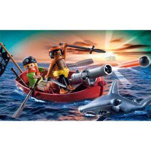 PLAYMOBIL Pirates Rowboat with Shark, 4 Jahr(e), PLAYMOBIL 5137