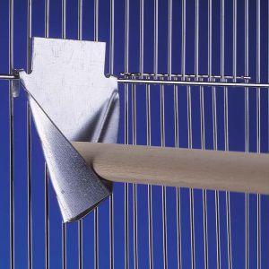 Nobby Ast-Sitzstangenhalter Aus Metall mittel; 12,0 x 12,0 cm