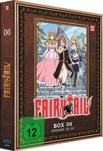 Fairy Tail - TV Serie - Box 6 - Episoden 125-150 - Blu-Ray