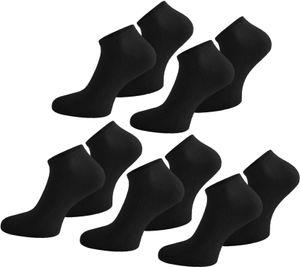 15 Paar American Sneaker - Schwarz - 43-47