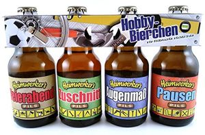 Handwerker Heimwerker Bier im witzigen Hobby 4er Träger Geschenk Clip (8,33 EUR / l)