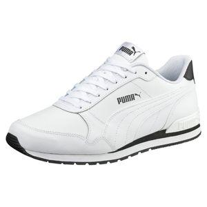 PUMA ST Runner v2 Full L Low Boot Sneaker Weiss Schuhe, Größe:43