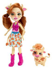Enchantimals Cailey Cow & Curdle Puppe