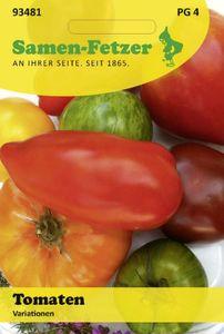 Tomaten Variationen 6 wohlschmeckende Raritäten