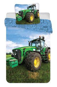 Traktor - Baby-Bettwäsche-Set, 100x135 & 40x60 cm