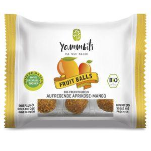 YammbitsFruchtkugeln Aprikose-Mango - 6er-Set