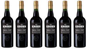 6x Krohn Porto Senador Tawny 0 – Krohn Portwein, Douro