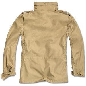 Brandit - M65 Standard Feldjacke Camel Parka US Style Jacke mit Futter Größe XXL