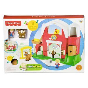 Mattel Fisher-Price Y8661 - Little People Tierstimmen Bauernhof